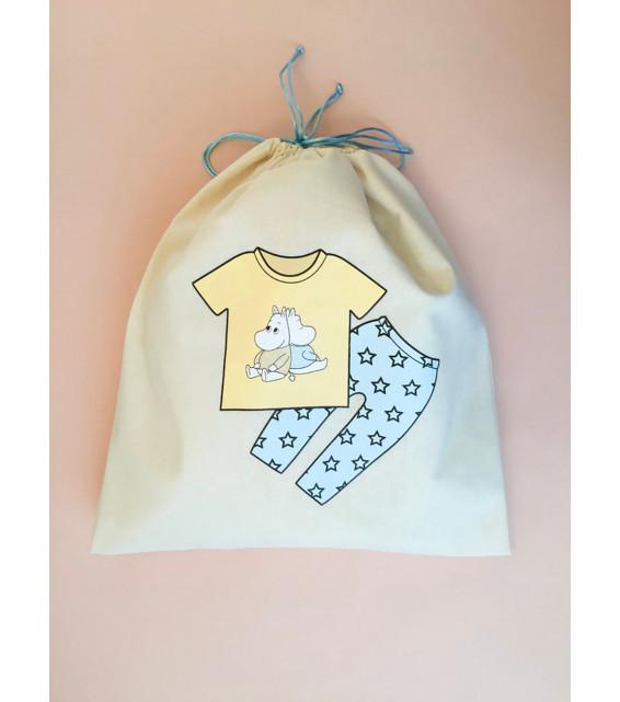 """Мешок для детских вещей с принтом """"Для мальчика"""" от The Meshok"""