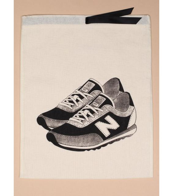 """Мешок для кроссовок с принтом """"NB"""" от The Meshok"""