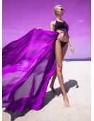 Туника пляжная Katarina BeachWear - без рукава (фиолетовый)