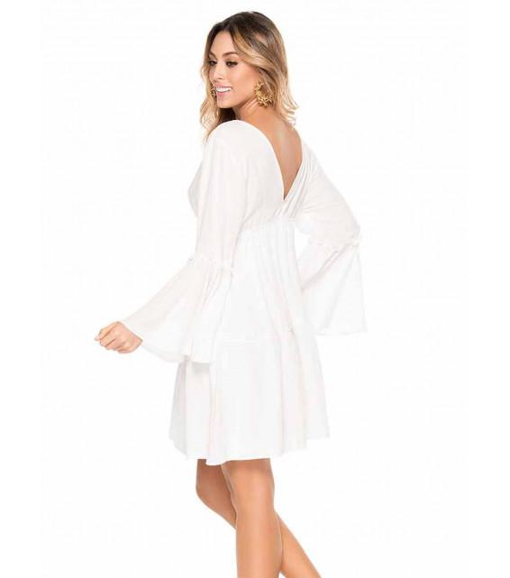 Пляжное платье Phax - CHERRY BLOSSOM (белый)