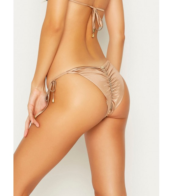 Плавки на завязках Beach Bunny - ARIEL tie side bottom (омбре фиолетовый)