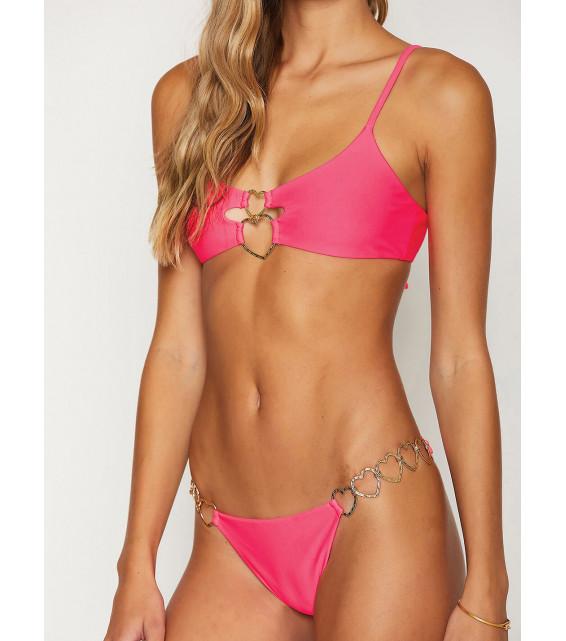 Лиф бралетт Beach Bunny - LEXI LOVE Bralette (розовый)
